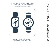 smartwatch icon. high quality... | Shutterstock .eps vector #1203347152