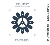 cogwheel icon. high quality... | Shutterstock .eps vector #1203358498