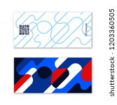 ticket card coupon and voucher... | Shutterstock .eps vector #1203360505