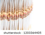 blur in the white light lots of ... | Shutterstock . vector #1203364405