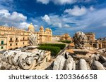 noto  italy   september 21 ... | Shutterstock . vector #1203366658