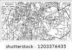 bangalore india city map in...   Shutterstock .eps vector #1203376435