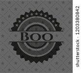 boo black emblem   Shutterstock .eps vector #1203380842