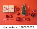 christmas holiday background... | Shutterstock . vector #1203383575