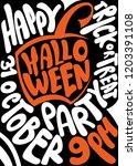 handwritten poster for...   Shutterstock .eps vector #1203391108