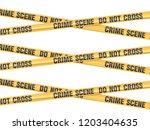 crime scene do not cross... | Shutterstock .eps vector #1203404635
