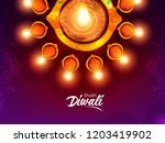 creative abstract or poster ... | Shutterstock .eps vector #1203419902