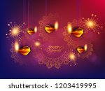 creative abstract or poster ... | Shutterstock .eps vector #1203419995