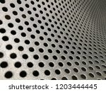 macro photo of perforated... | Shutterstock . vector #1203444445