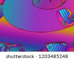 abstract vibrant background... | Shutterstock .eps vector #1203485248