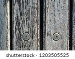 abstract texture of old wooden... | Shutterstock . vector #1203505525