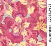 floral seamless pattern. ... | Shutterstock .eps vector #1203519625