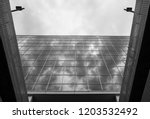 abstract architectural design.... | Shutterstock . vector #1203532492