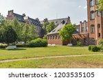 inner yard of department of... | Shutterstock . vector #1203535105