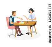 occupational therapy in... | Shutterstock .eps vector #1203538765