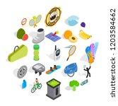 preparation for championship... | Shutterstock .eps vector #1203584662