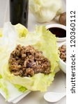 Asian Lettuce Wrap Making And...