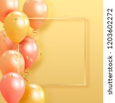 set of realistic pearl glossy... | Shutterstock .eps vector #1203602272