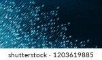 light electronic circuit... | Shutterstock .eps vector #1203619885