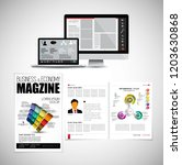template vector design ready... | Shutterstock .eps vector #1203630868