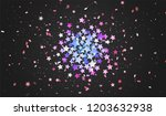 colorful confetti of stars and... | Shutterstock .eps vector #1203632938
