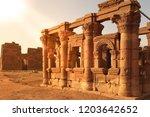 Ruins Of Naqa Meroe  In Ancient ...