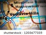 vestavia hills. alabama. usa on ... | Shutterstock . vector #1203677335