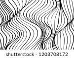 wave lines pattern art abstract ... | Shutterstock .eps vector #1203708172
