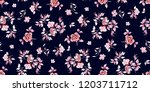 Stock vector seamless floral pattern in vector 1203711712