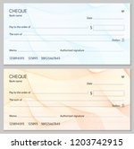 check  cheque  chequebook... | Shutterstock .eps vector #1203742915