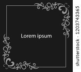 black background.line pattern... | Shutterstock .eps vector #1203743365