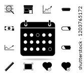 the calendar icon. web icons...