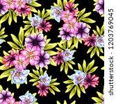 abstract elegance seamless... | Shutterstock . vector #1203769045