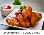 Baked Barbecue Chicken Wings...