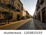 guadalajara streets in historic ...   Shutterstock . vector #1203815155