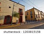 guadalajara streets in historic ...   Shutterstock . vector #1203815158