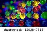 an amazing 3d illustration of...   Shutterstock . vector #1203847915