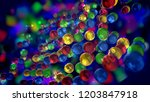 an exciting 3d illustration of...   Shutterstock . vector #1203847918