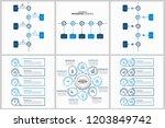 modern infographic options... | Shutterstock .eps vector #1203849742
