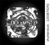 biochemistry on grey... | Shutterstock .eps vector #1203870292