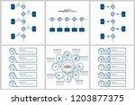 modern infographic options... | Shutterstock .eps vector #1203877375