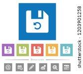 undo last file operation flat...   Shutterstock .eps vector #1203901258