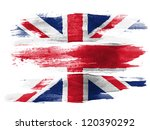The British Flag Painted On...