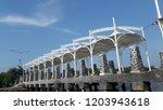 untung jawa  thousand island ... | Shutterstock . vector #1203943618