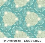 graphic floral tracery grid... | Shutterstock .eps vector #1203943822
