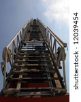 detail view of a ladder on... | Shutterstock . vector #12039454