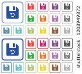 undo last file operation color...   Shutterstock .eps vector #1203949372