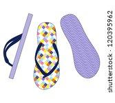 vector set of colorful flip... | Shutterstock .eps vector #120395962
