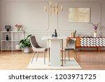 industrial style  golden... | Shutterstock . vector #1203971725