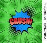 comic page explosive concept...   Shutterstock .eps vector #1204004218